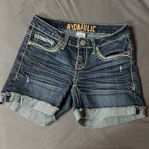 Hydraulic Jean Shorts